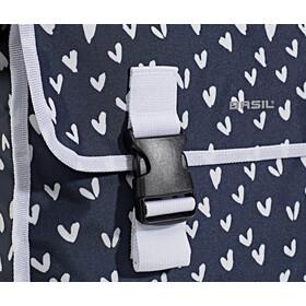 Basil Mara XL Dubbele Bagagedragertas 35L 35l, heart dots